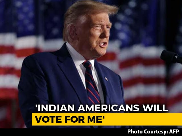 Video : Indian Americans Will Vote For Me: Donald Trump