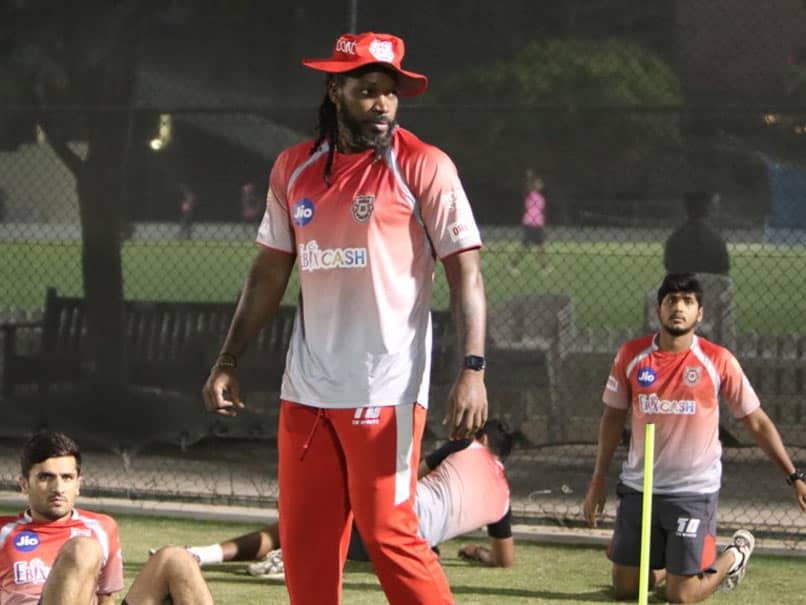 Chris Gayle Takes A Great Catch But With A Twist By KXIP. Watch
