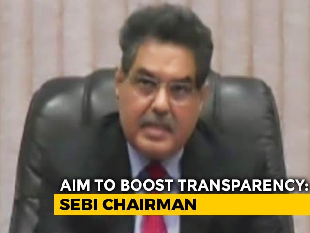 Video: Policy Changes To Boost Transparency: SEBI Chairman To Mutual Funds