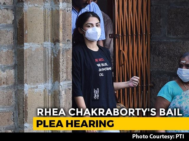 "Video : Rhea Chakraborty Says ""Coerced To Make Self-Incriminatory Confessions"""