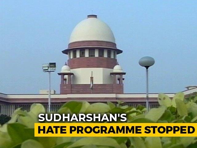 "Video : Sudarshan TV's ""UPSC Jihad"" Violated Program Code: Centre To Supreme Court"