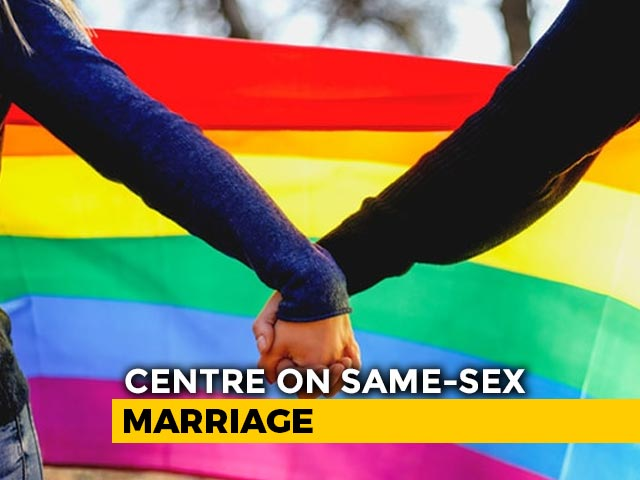 Video : Same Sex Marriage Against Indian Law, Culture: Centre