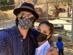 Sunny Leone's Caption For This Pic With Husband Daniel Weber Will Crack You Up