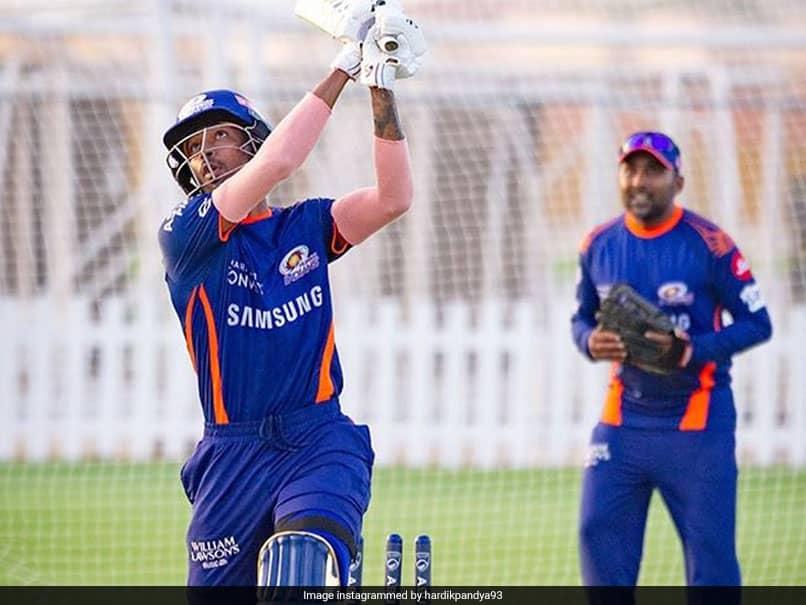 IPL 2020: Hardik Pandya Smashes It In The Nets Day Before IPL Opener
