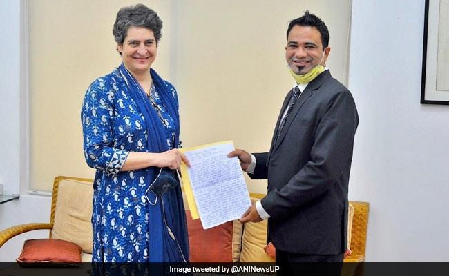 Kafeel Khan Meets Priyanka Gandhi Vadra, Thanks Congress For Support
