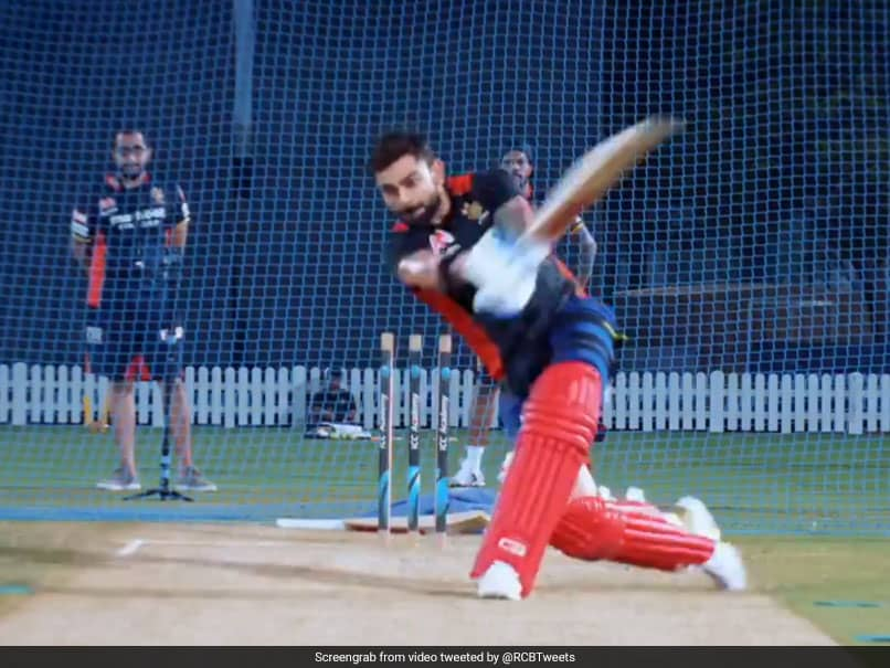 Virat Kohli Finding The Sweet Spot In Nets, Looks In Ominous Touch Ahead Of IPL 2020. Watch