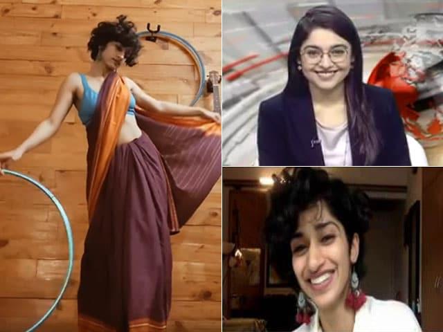 Video : #SareeFlow Sensation On NDTV