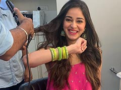 <i>Khaali Peeli</i>: Ahead Of The Film's Release, Ananya Panday Shares Pics From Her First Look Test As Pooja