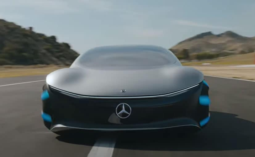 Mercedes Releases Driving Footage Of Vision AVRT Concept Car