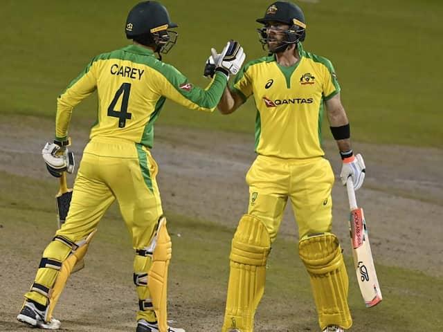 Glenn Maxwell And Alex Carey Hit Centuries As Australia Clinch ODI Series Win Over England