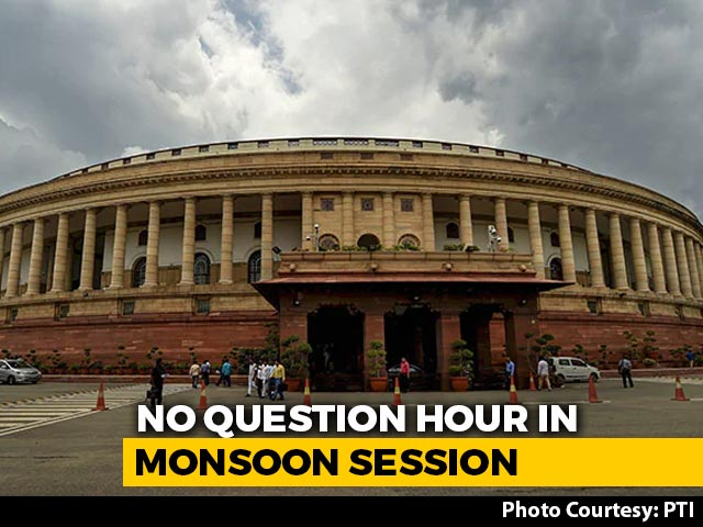Video : Anger Over Government's 'No Question Hour' Move For Parliament Session