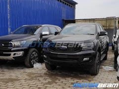 Upcoming Ford Endeavour Sport Spotted In New All-Black Shade