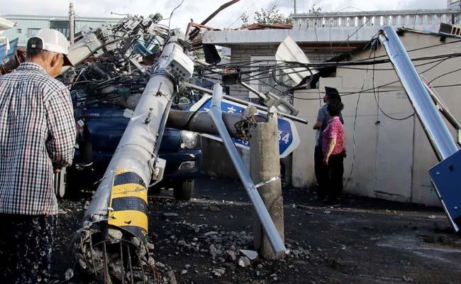 Typhoon Maysak Hits South Korea; At Least One Killed, 2,000 Evacuated