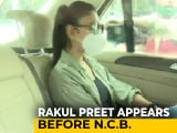 Video : Drugs Case: Rakul Preet Questioned For 4 Hours, Deepika Padukone's Turn Today