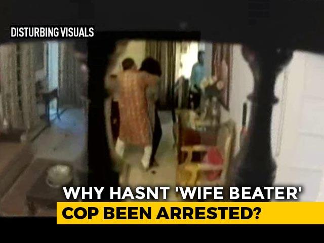 Video: Madhya Pradesh Cop Justifies Beating Wife On Video, Not Arrested