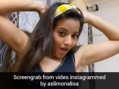 Monalisa ने अक्षय कुमार के गाने पर किया डांस, VIDEO ने सोशल मीडिया पर मचाई धूम