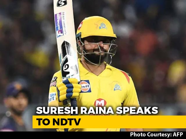 """Video : Hotel Room Wasn't Issue, Needed To Handle """"Home Front"""": Suresh Raina To NDTV"""