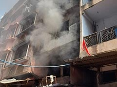 Fire Breaks Out At Delhi Plastic Factory