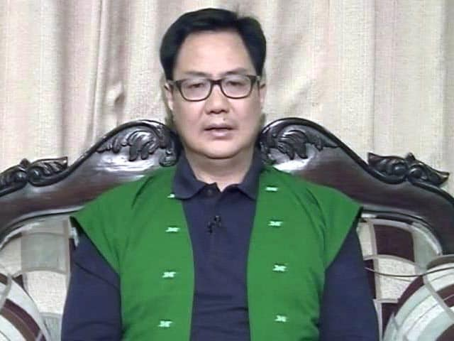 """Video : """"Sent Message"""": Kiren Rijiju's Update On Men """"Kidnapped"""" By Chinese Army"""