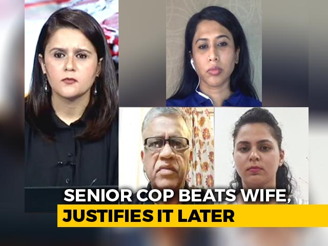 Video: 'Not A Crime': Senior Madhya Pradesh Cop Defends Assaulting Wife