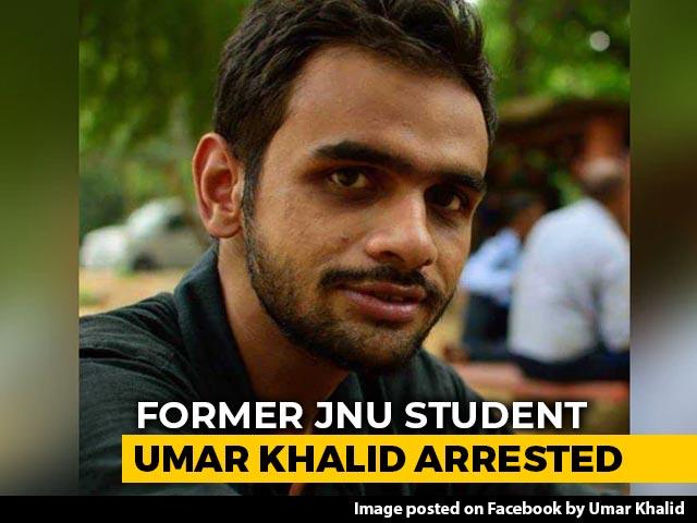 Video : Former JNU Student Umar Khalid Arrested In Delhi Riots Case