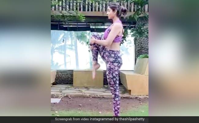Eka Padasana: Start Your Morning With This Yoga Sequence By Shilpa Shetty Kundra