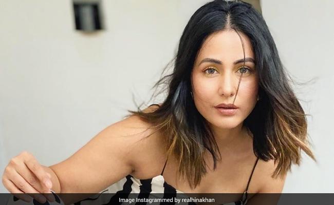Hina Khan ने पोल्का डॉट ड्रेस में दिखाया ऐसा अंदाज, खूब वायरल हो रही Photos