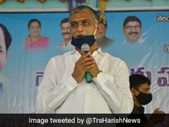 Telangana Finance Minister Harish Rao Tests COVID-19 Positive