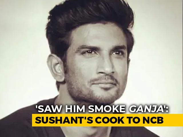 "Video : ""Saw Him Smoke <i>Ganja</i>,"" Says Sushant Singh Rajput's Cook To Investigators"
