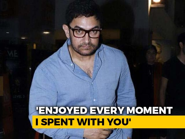 Video : Aamir Khan Writes Tribute For His Marathi Teacher Who Died