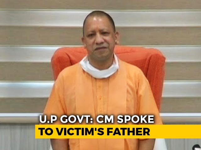 Video : Yogi Adityanath Speaks To UP Gang-Rape Victim's Family Through Video Link