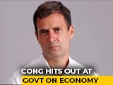 "Video : ""Frightening Impact"" Of 2016 Notes Ban Seen In GDP Shock: Rahul Gandhi"