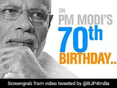 "On PM's Birthday, BJP's Virtual Exhibition In ""Never-Before-Seen-Format"""
