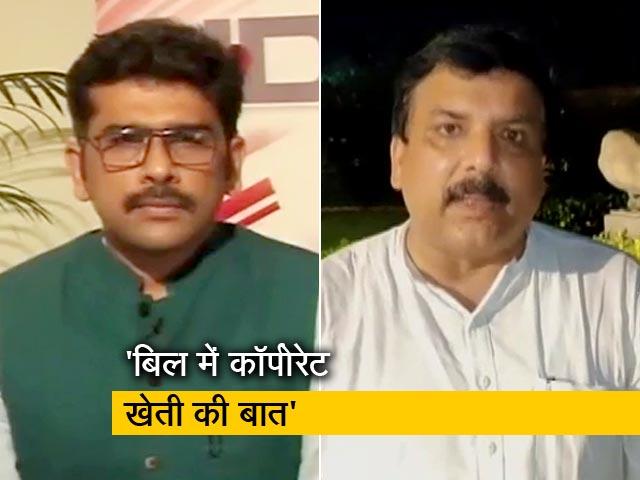 Videos : खबरों की खबर : संजय सिंह बोले- 'किसान विरोधी है बिल, कहीं MSP के बारे में नहीं लिखा'
