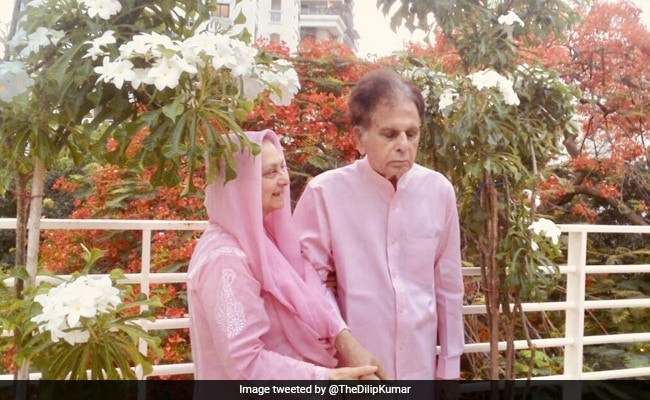 Dilip Kumar And Saira Banu, Twinning In Pink, In An Evergreen Pic