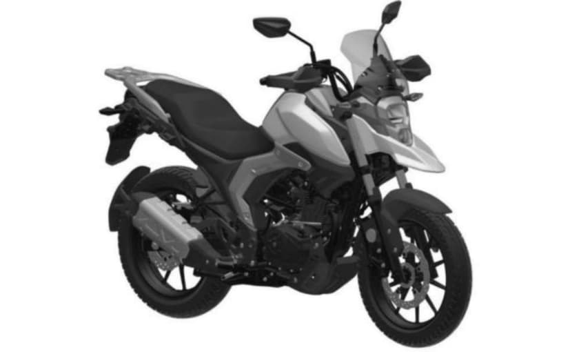 The Suzuki V-Strom 160 could be based on patents filed by Chinese partner Haojue