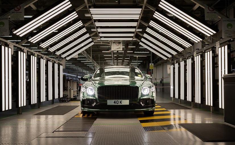 Bentley, which makes high end sports cars, buys 90% of its components from continental Europe