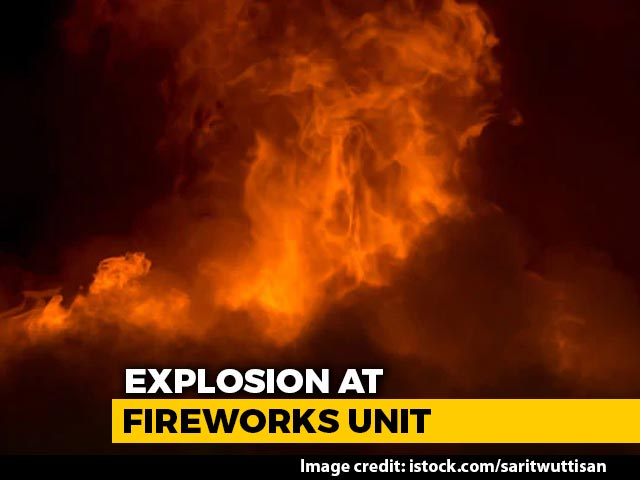 Video : 7 Killed In Explosion At Tamil Nadu Fireworks Factory, Owner Among Dead
