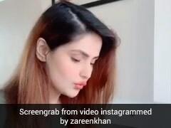 जरीन खान को याद नहीं रहा लैपटॉप का पासवर्ड, तभी किया कुछ ऐसा और चुटकियों में खुल गया लैपटॉप- देखें Video