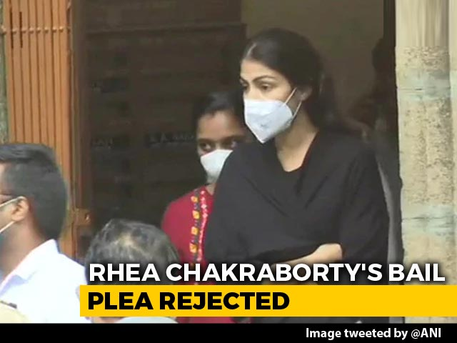 """Video : Rhea Chakraborty's Bail Rejected, Part Of """"Drug Syndicate,"""" Says Agency"""