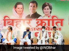 "Congress Launches Poll Campaign With ""Bihar <i>Kranti</i> Virtual <i>Mahasammelan""</i>"