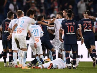 Neymar, Four Others Sent Off As On-Field Brawl Erupts Between PSG, Marseille Players. Watch