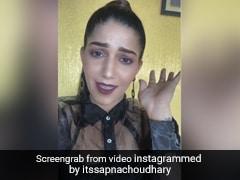 सपना चौधरी ने राहत इंदौरी की शायरी पर यूं दिये एक्सप्रेशंस, बार-बार देखा जा रहा है Video
