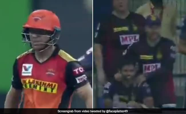 David Warner looked good until he was caught and bowled by Varun Chakravarthy