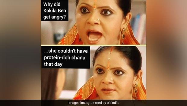 PIB Posts Funny 'Rasode Mein Kaun Tha' Meme To Promote Protein-Rich Diet