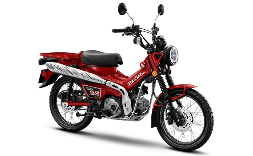 The Honda Trail 125 has been launched as the Hunter Cub in Asia