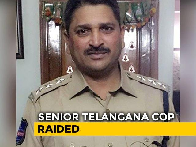 Video : Senior Telangana Cop Had ₹70 Crore In Illegal Wealth, Reveal Raids
