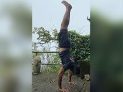 Nothing To See Here. Just A Video Of Milind Soman Nailing A Handstand