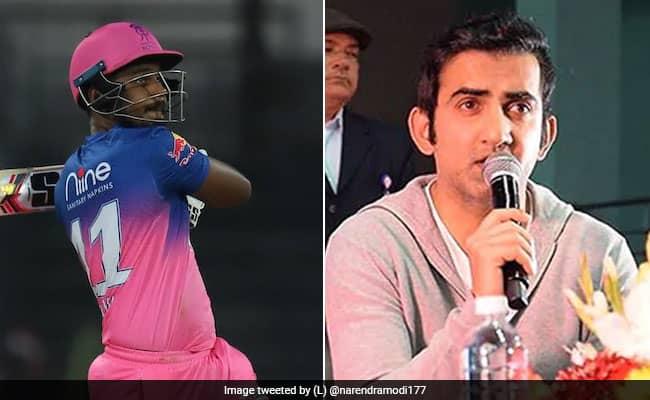 IPL 2020 Sanju Samson is not just the best wicketkeeper batsmen in India but the best young batsman in India says Gautam Gambhir