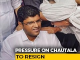 Video : After Akali Exit, Pressure On Dushyant Chautala To Quit In Haryana